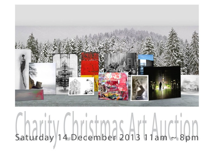 Charity Art Auctioin Invite Front